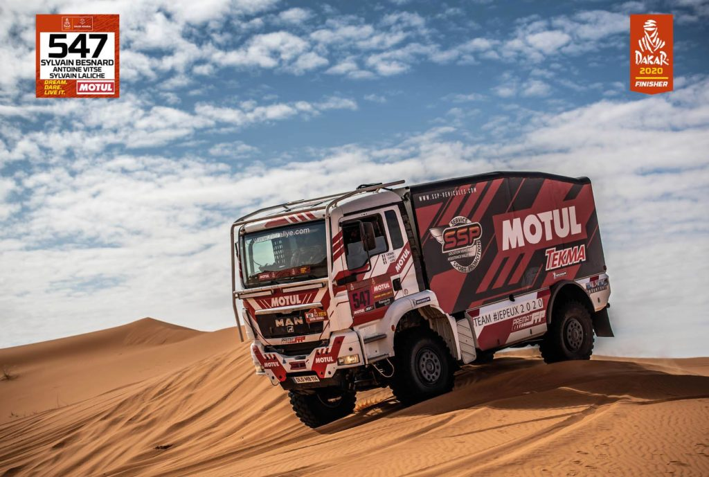 Finisher Dakar 2020